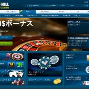 ウィリアムヒルカジノの登録と入金方法